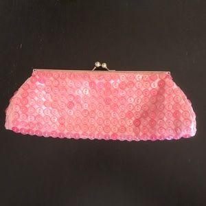 Handbags - Button purse clutch